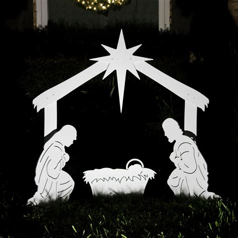 outdoor holy family set holy family outdoor nativity set yard nativity