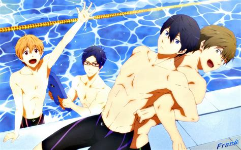 free iwatobi swim club myanimeth just another anime