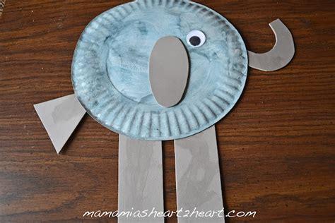 elephant crafts for elephant craft pre k