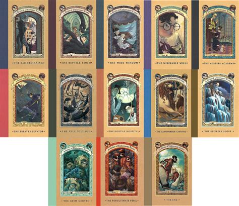 picture book series aseriesofunfortunateevents by midnightmagnificent on