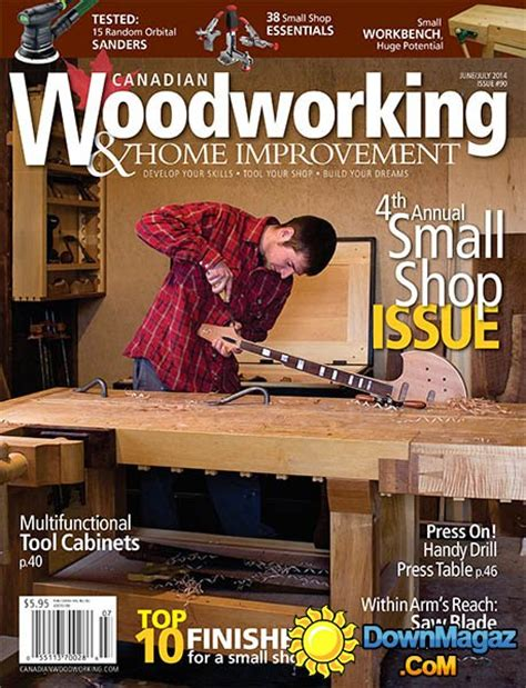 canadian woodworking magazines canadian woodworking home improvement 90 june july