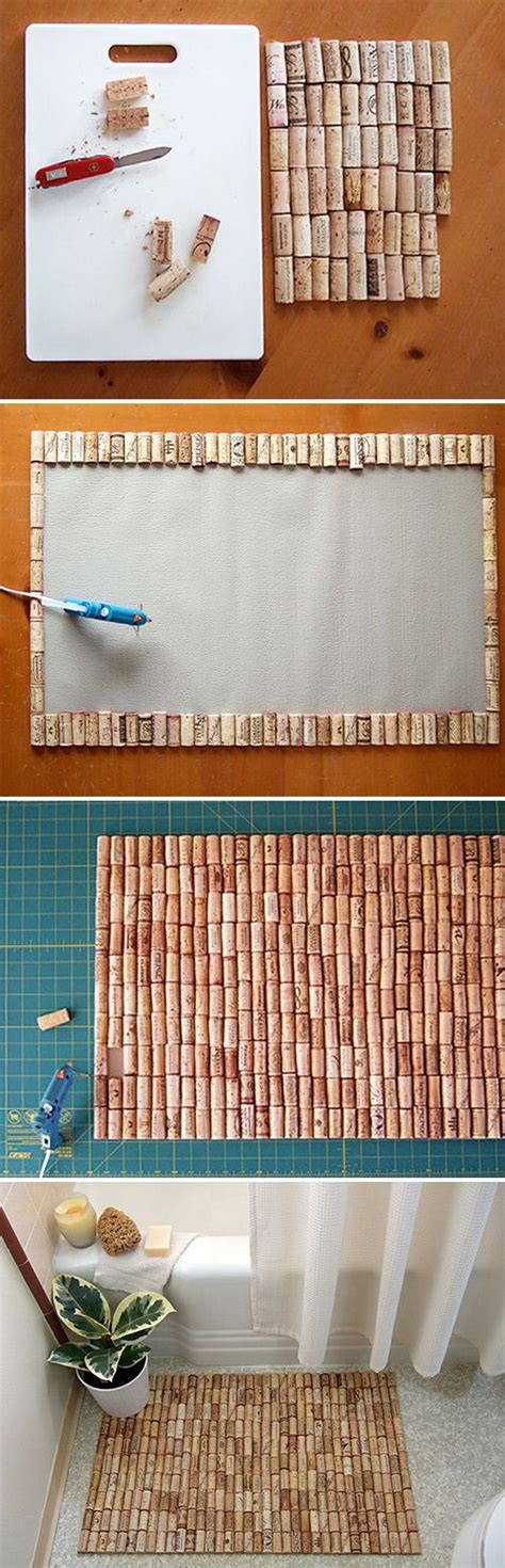 useful craft projects cork upcycling ideas useful crafts decozilla