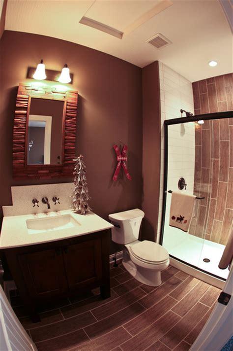 Rustic Themed Bathroom ski lodge themed bathroom rustic bathroom dublin