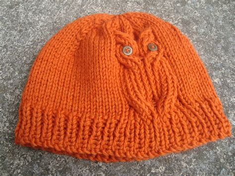 owl hat pattern knit free owl hat knitting pattern knitting listia