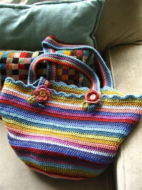 crochet bags with attic24 crochet bag pattern