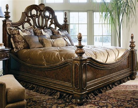 high bed sets high end master bedroom luxury beds manor home