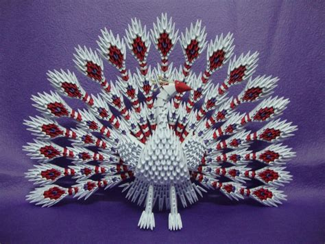 paper for 3d origami 3d origami peacock hartosna 3d origami