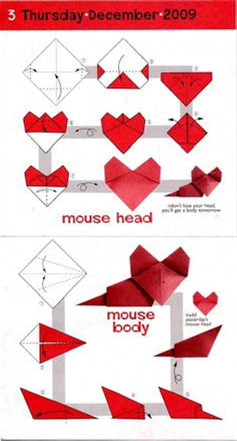 how to make an origami mouse 1000 images about origami animals mouse on