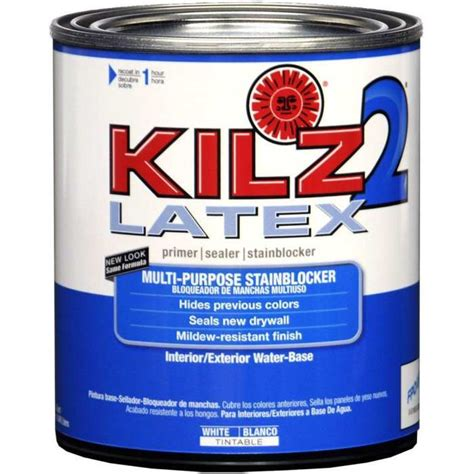 does home depot sell paint by the quart kilz 20902 kilz 2 white primer qt at sutherlands