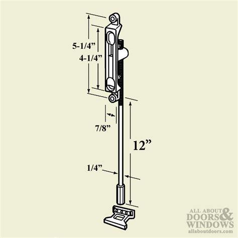 commercial exterior door hardware flush bolt 12 inch 1 4bs commercial doors hardware aluminum
