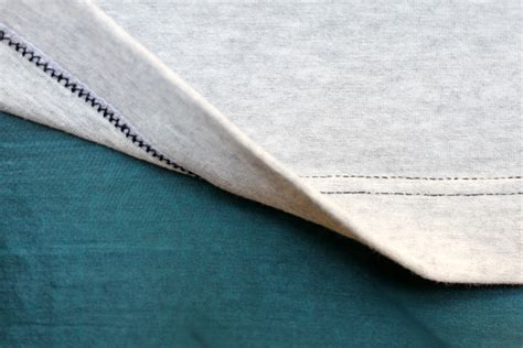 hemming knit fabric stretch your skills how to hem knit fabric five different