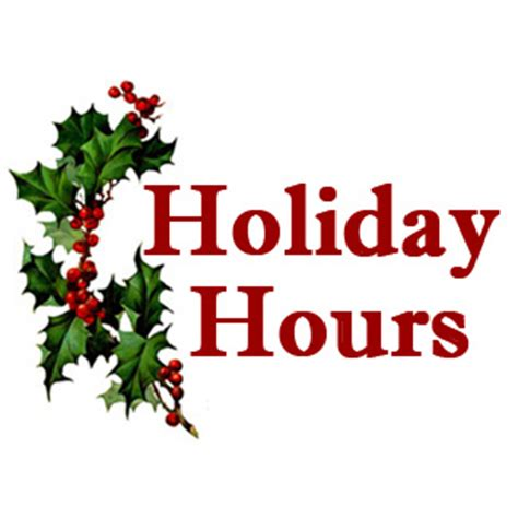 our holiday season hours weathervane playhouse