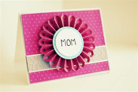 how to make a cool mothers day card handmade s day card gift ideas 2015