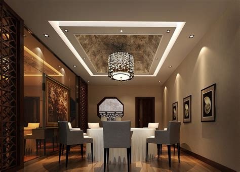 dining room ceiling designs modern dining room with wrapped ceiling design image