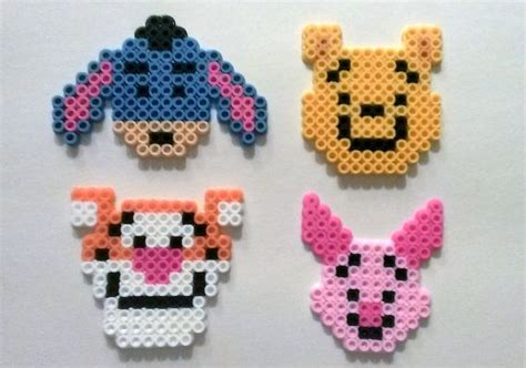 perler piglet winnie the pooh and pals beautiful piglets and magnets