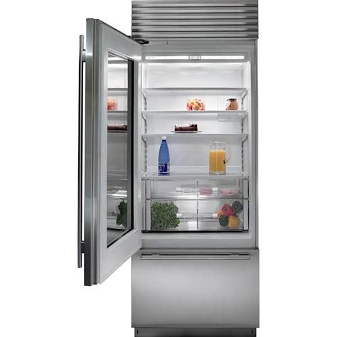 sub zero glass door subzero bi 30ug o 30 quot built in and refrigerator
