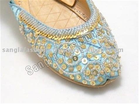 beaded khussa shoes beaded embroidered khussa shoes by sangla exports