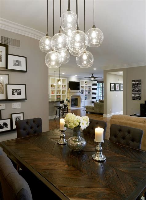 lights for dining room table 25 best ideas about dining room lighting on
