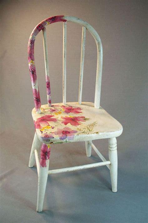decoupage a chair 25 unique decoupage chair ideas on diy