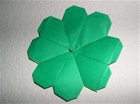 origami four leaf clover origami not late for st s