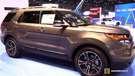 Ford Explorer Interior by 2015 Ford Explorer Sport 4wd Exterior And Interior