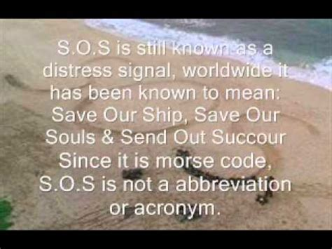 what does in what does sos really exposed 2011 2012