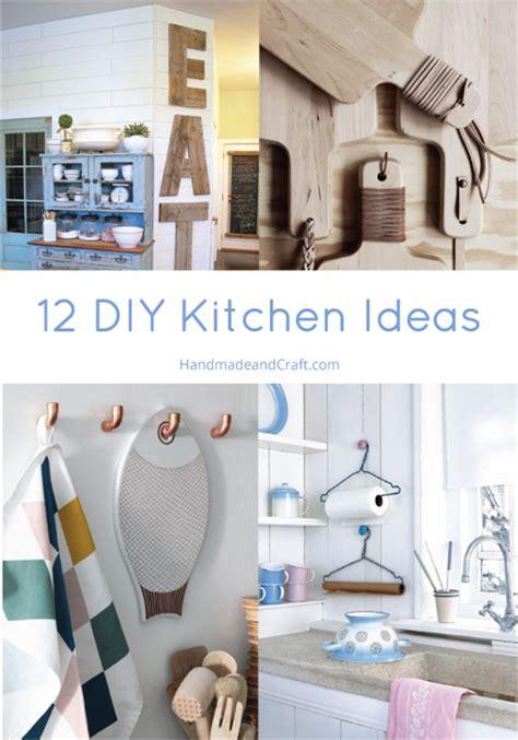 diy kitchen designs 12 diy kitchen ideas