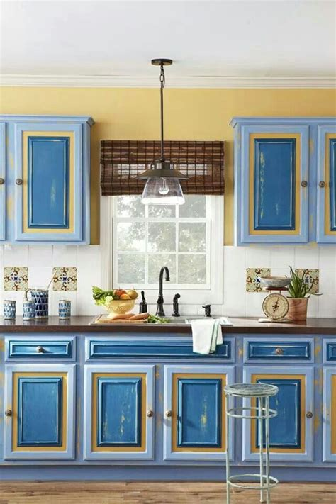 blue and yellow kitchen ideas blue and yellow kitchen home