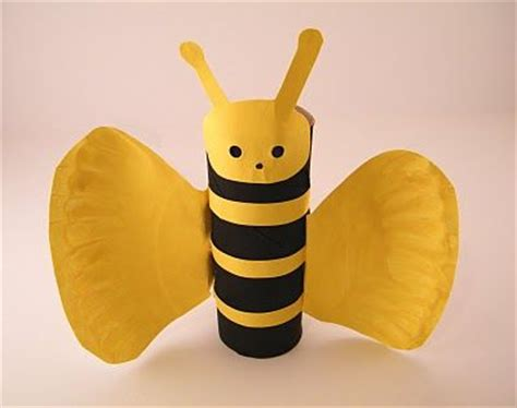 paper plate bumble bee craft bumble bee crafts toilet paper rolls and toilet paper on