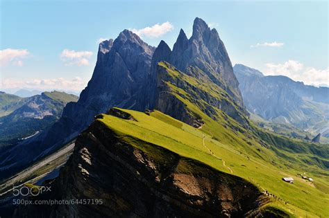 photograph the odle mountain range in val gardena italy by angelo ferraris on 500px