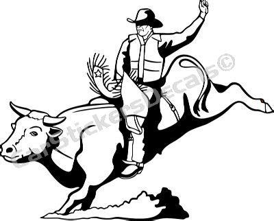 pin bull riding coloring pages tattoo on pinterest picture