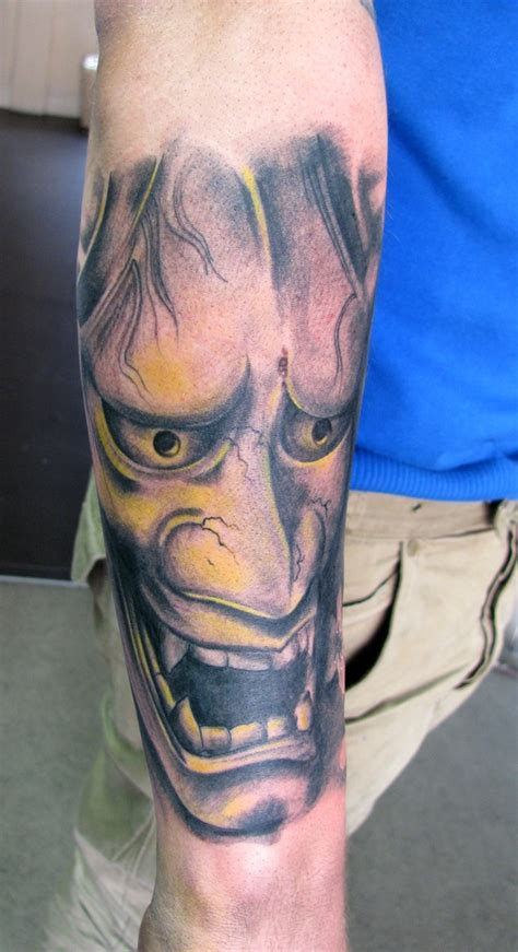 hannya mask tattoo by dmtattoo on deviantart