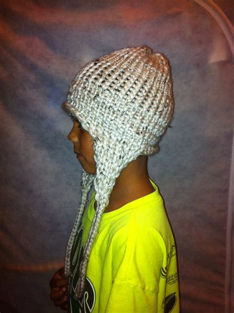 knit hat with ear flaps loom knit hat with ear flaps loom ma with me