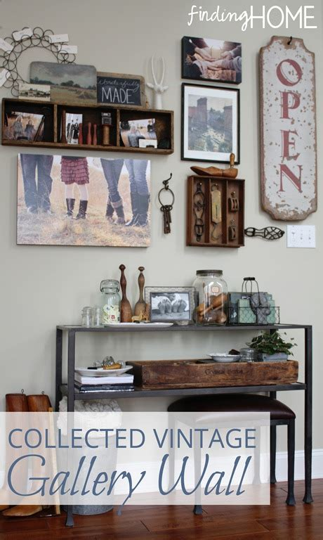 ideas to decorate kitchen walls decorating ideas collected vintage gallery wall finding home farms