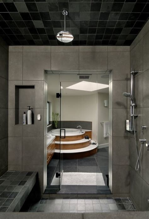 modern homes bathrooms modern house interior to merge with nature digsdigs