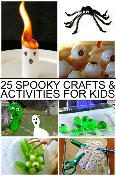 spooky crafts for spooky crafts activities for frugal eh