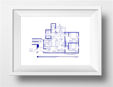 floor plans of tv show houses floorplans bring to your favorite tv show