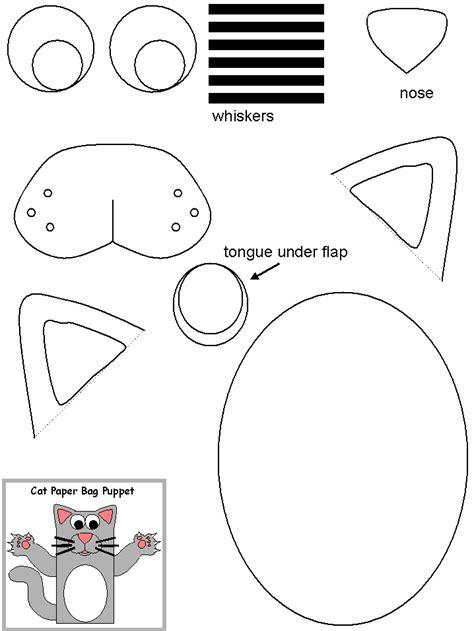 paper bag cat craft make a paper bag cat peggylicious