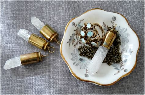 how to make jewelry from bullet casings top 10 magical diy quartz jewelry top inspired