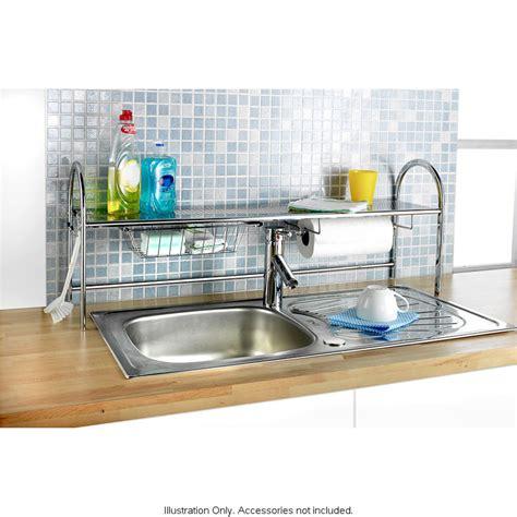 kitchen the sink shelf kitchen roll sink tap storage tidy holder
