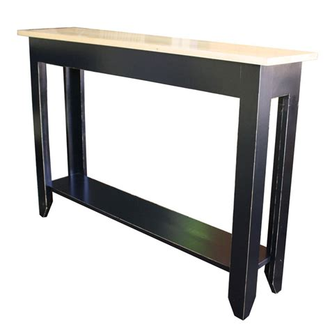 primitive sofa table terrace bedroom collection rubbed black homes