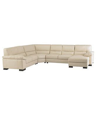 spencer leather sectional sofa spencer leather 4 sectional sofa one arm loveseat