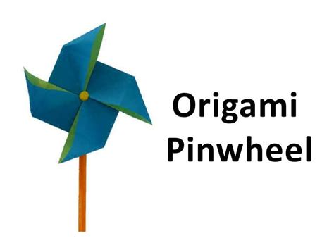 how to make a origami pinwheel how to make an origami pinwheel windmill
