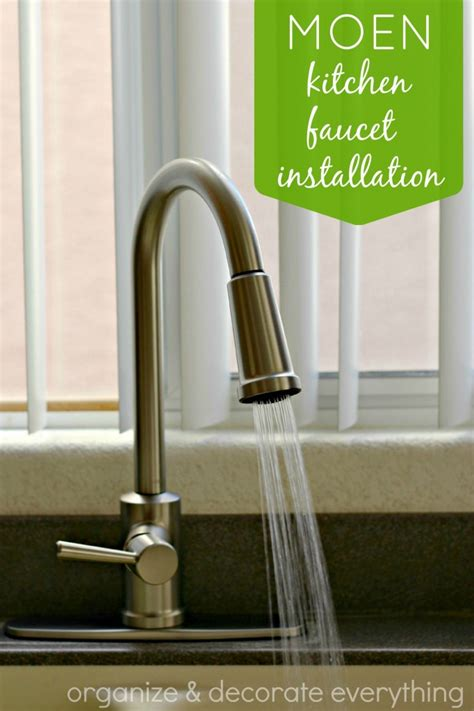 kitchen faucets installation moen kitchen faucet installation organize and decorate