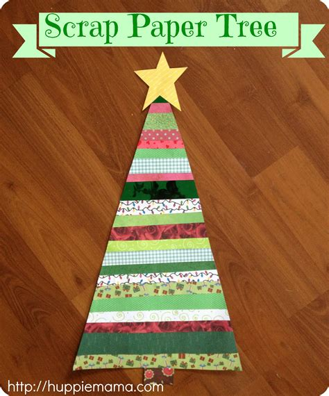 paper scraps crafts scrap paper tree our potluck family