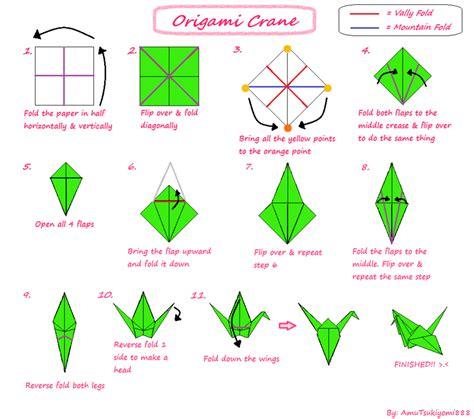 post it origami crane origami tutorials album on imgur