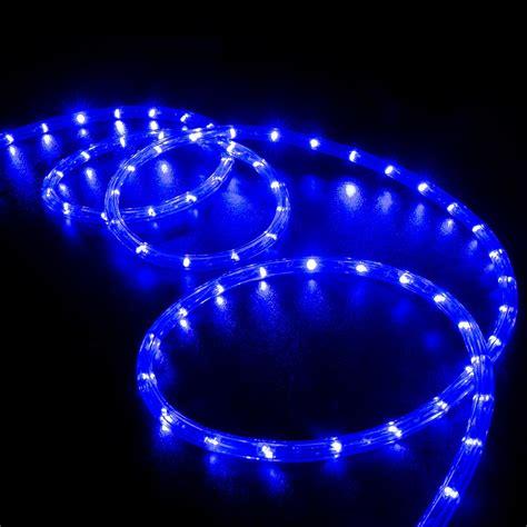 150 foot led rope light 150 blue led rope light home outdoor lighting