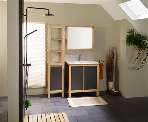 salle de bain conforama en bois photo 11 15 bloc et vasque miroir cadre en panneau de