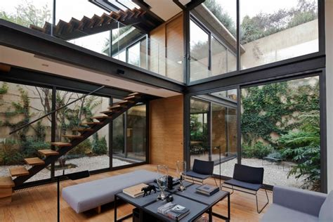 homes with courtyards a house with 4 courtyards includes floor plans