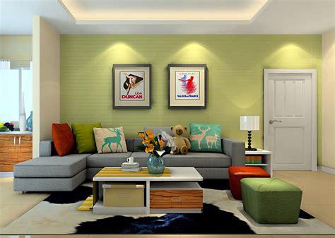 light green living room walls bright green wall living room sofa 3d house